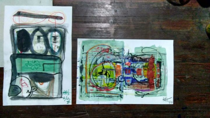 """Painting titled """"img-20171026-160427…"""" by Andrew Hunt, Original Art,"""