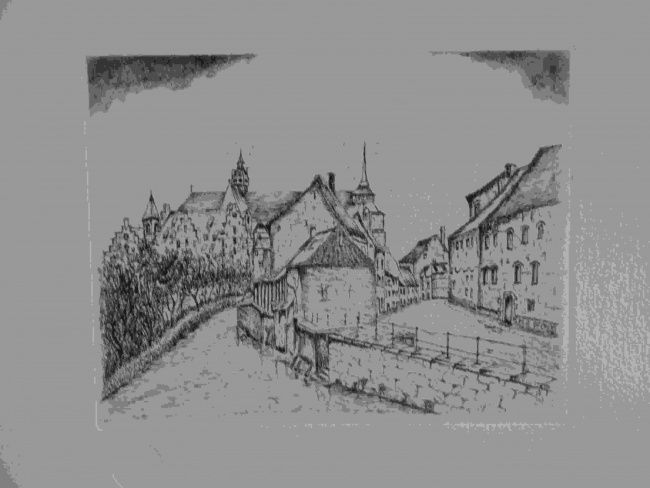 onb4 - Drawing ©2012 by Andre Wellens -