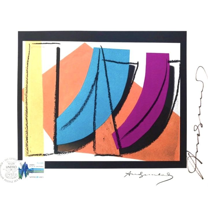 """Printmaking titled """"Legendary Lithograp…"""" by Andy Warhol, Original Art, Lithography"""