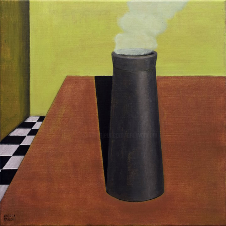 THE CHIMNEY IS ON THE TABLE - © 2019  Opere d'arte online