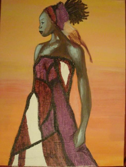 """Painting titled """"Morena.jpg"""" by Angbianca, Original Art,"""
