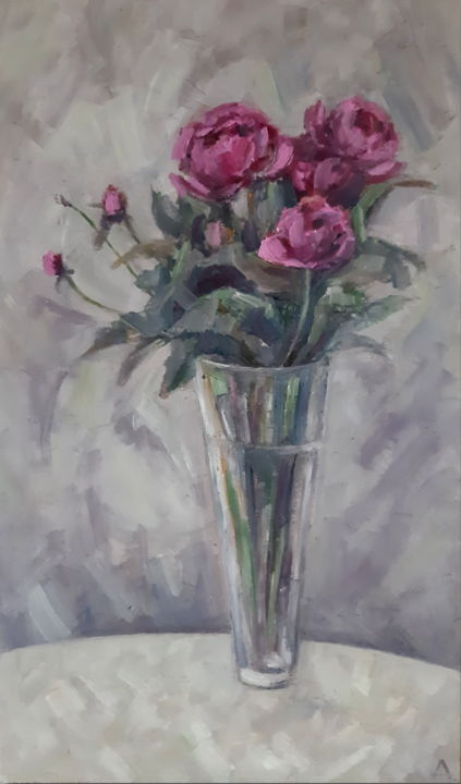 """Painting titled """"Original painting f…"""" by Angelia Lasnaia, Original Art, Oil"""