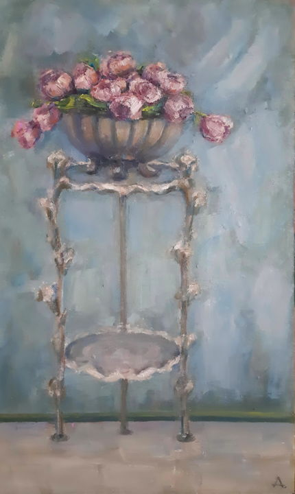 """Painting titled """"Original painting,…"""" by Angelia Lasnaia, Original Art, Oil"""