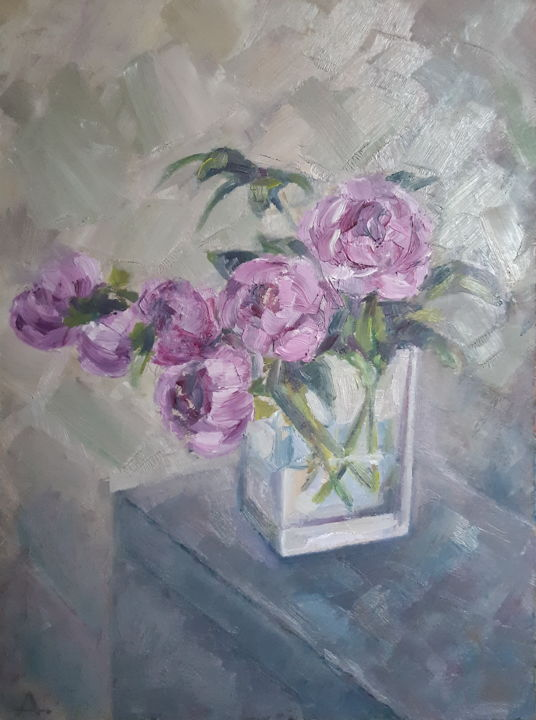 """Painting titled """"Original painting """"…"""" by Angelia Lasnaia, Original Art, Oil"""