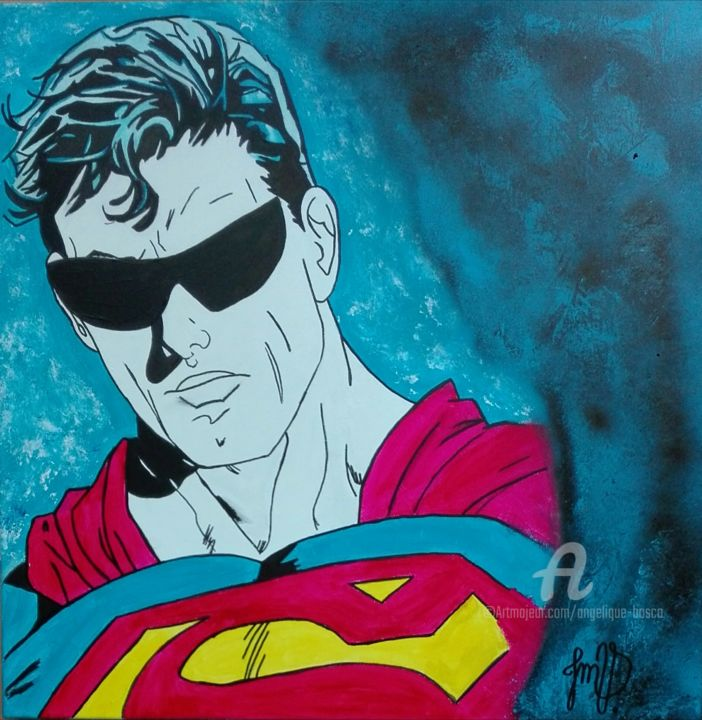 Superman.Look - © 2019 superman, dc, dc comics, dessin, dessin du jours, peinture, comics, fanart, dope art, illustration art, draw, drawing, tableau, metropolis, daily planet, bd Online Artworks