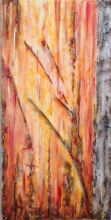 """Painting titled """"Autumn Colours II"""" by Angie Chapman, Original Art, Acrylic"""
