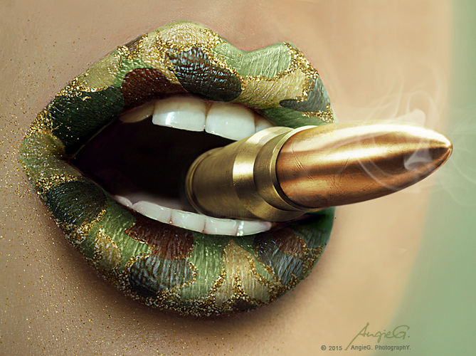 M43 - Digital Arts ©2015 by AngieG. PhotographY. -                                                                                                                                    Art Deco, Conceptual Art, Illustration, Pop Art, Other, Body, Colors, Erotic, Women, lips, makeup, make-up, beauty, fashion, glamour, conceptual, cosmetics, sexy, digital photography, fine art