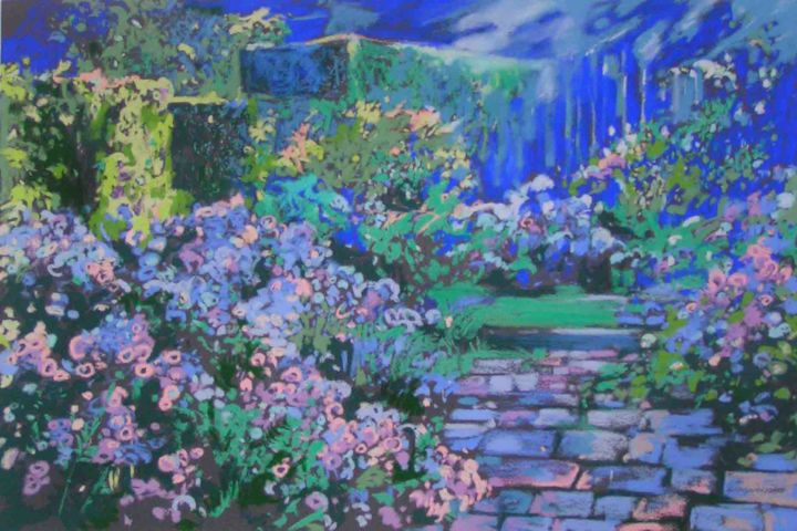 Jardins De Claude Monet A Giverny 3 Painting By Anna Kropiowska