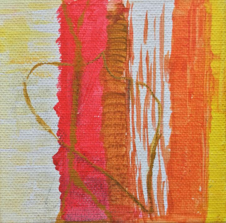 Painting, acrylic, abstract, artwork by Ann Lahti
