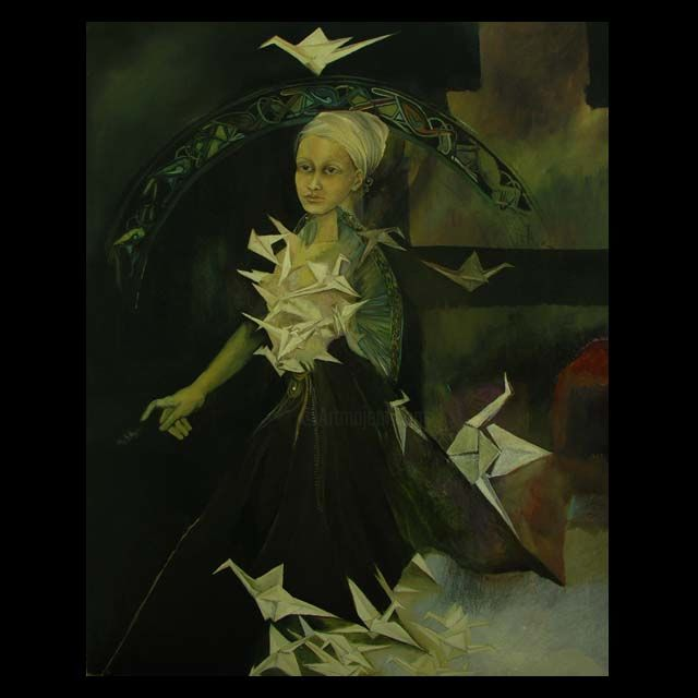 Painting ©2007 by Anna Kawka -  Painting, Symbolism