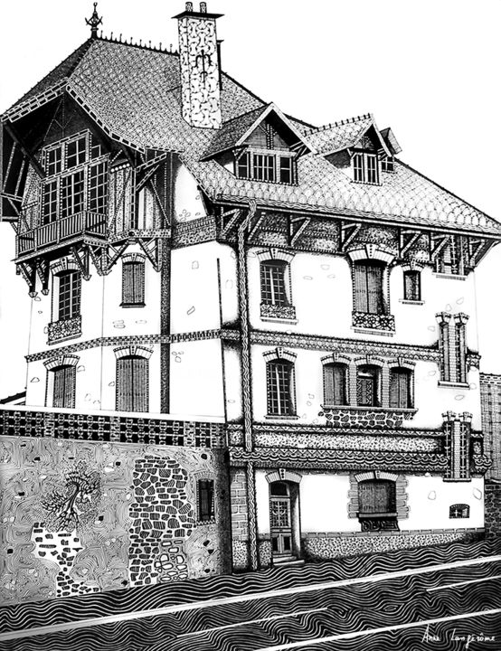 Maison dessin architecte dessin darchitecte maison de for Plan architecte maison