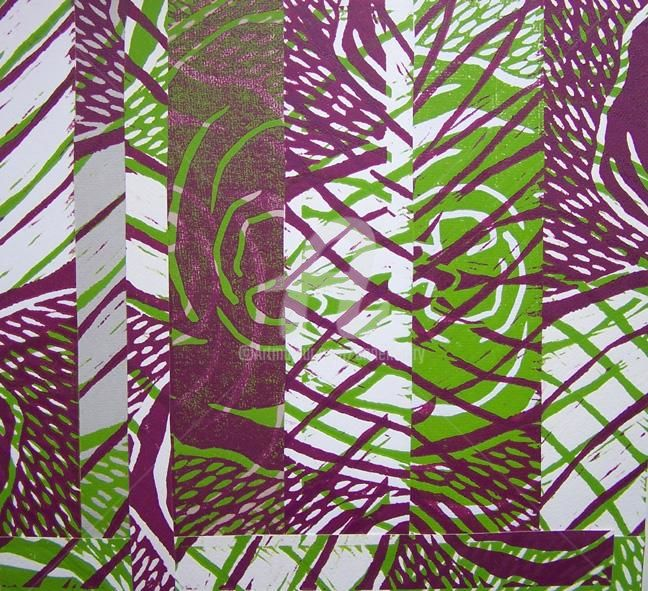 Jungle I - © 2009 Anne Maury -   Online Artworks