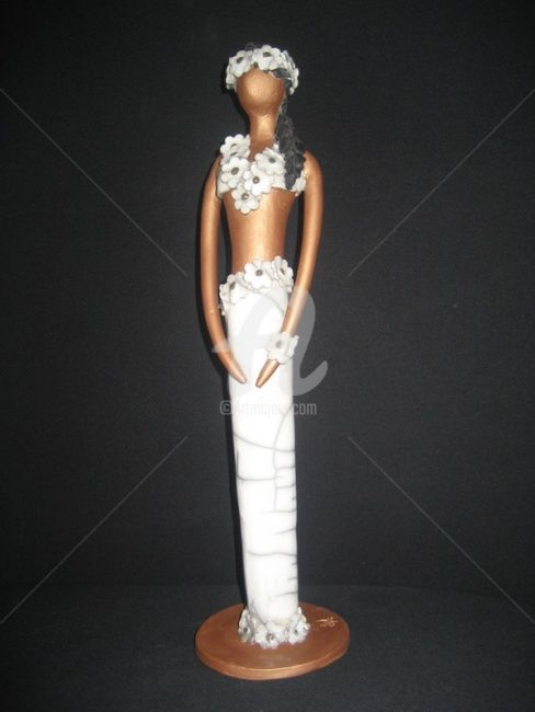 Tahitienne - Sculpture ©2012 by Anne Schmitt -