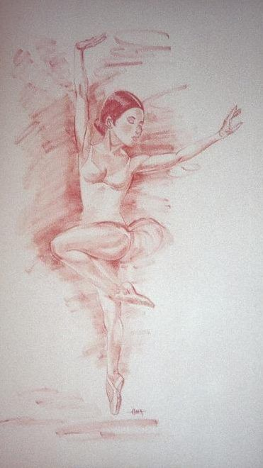 ENTRECHAT - Painting ©2006 by Annie Dite Ana Maillet -