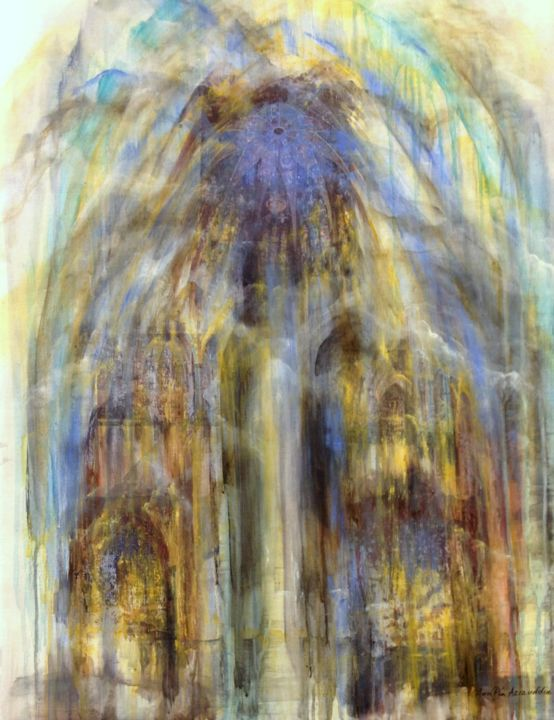 """Painting titled """"in-the-arches.jpg"""" by Ann-Pia Azizuddin, Original Art,"""