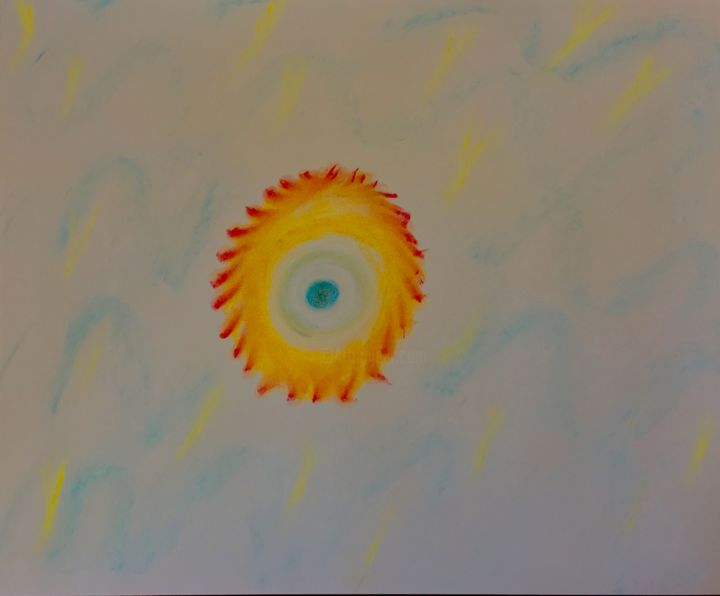 """Drawing titled """"EARTH AIR FIRE WATE…"""" by Anthony Spitaliere, Original Art,"""