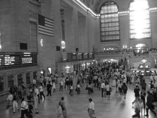 """Photography titled """"Grand Central Rush…"""" by Anthony Tsoukas, Original Art,"""