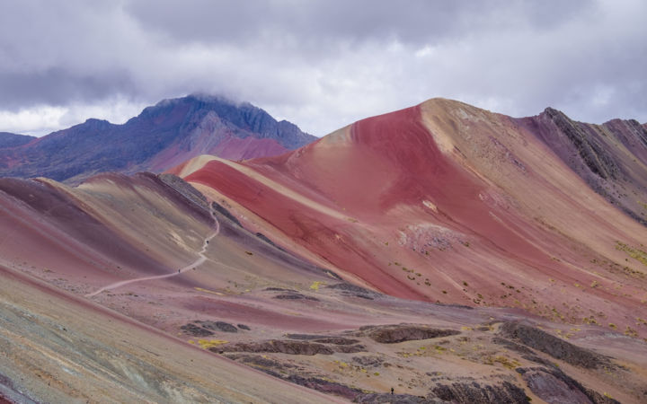 RAINBOW MOUNTAIN II - PERU - Photography, ©2018 by Antoine Barthelemy -                                                                                                                                                                                                                                                                                                                                          Landscape, Travel, south america, travel, peru, mountain, beautiful landscape