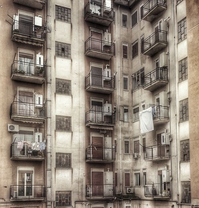 Windows - Photography, ©2017 by Antonio Castiglione -                                                                                                                                                                                                                                                                                                                                                          Expressionism, expressionism-591, Architecture, Home, Cities, Cityscape, Places