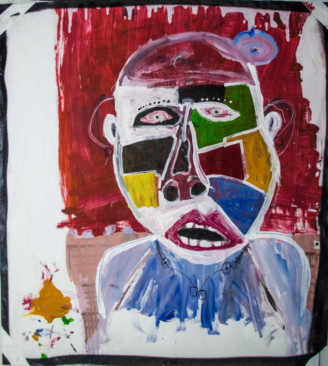 """Painting titled """"All right Party"""" by Anton Postolenko, Original Art, Acrylic"""