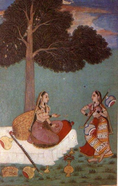 musical - Painting,  59.1x55.1 in, ©2004 by Saumya anuj -