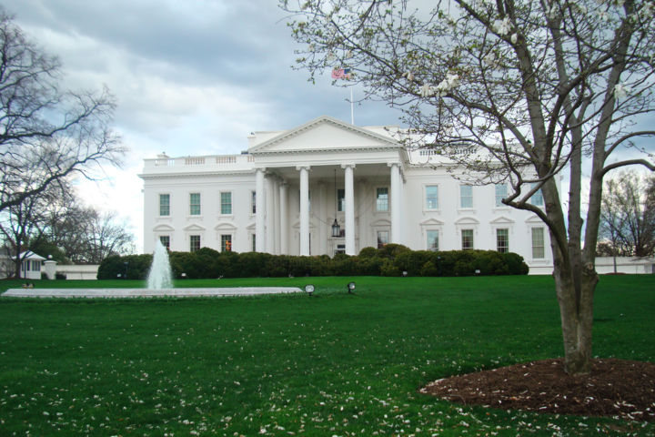 """Photography titled """"The White House"""" by Ak, Original Art, Digital Photography"""
