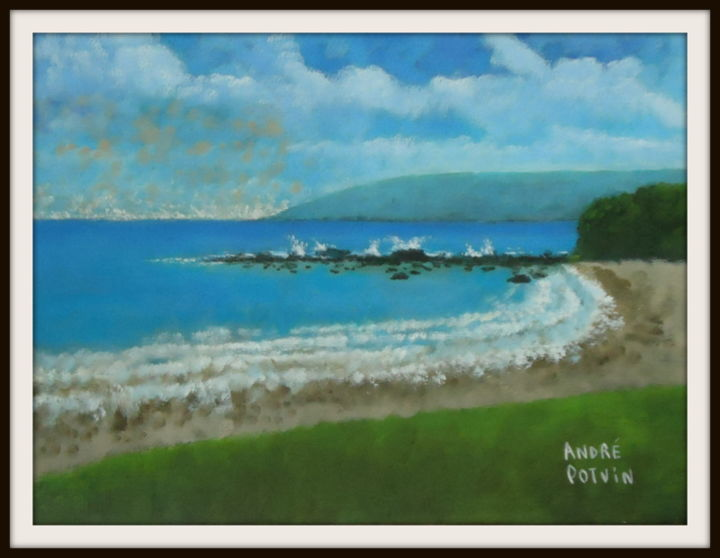 """Painting titled """"Maui"""" by André Potvin, Original Art, Acrylic"""