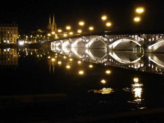 nuit basque - Photography,  7.9x11.8 in, ©2009 by Aquartistiq -