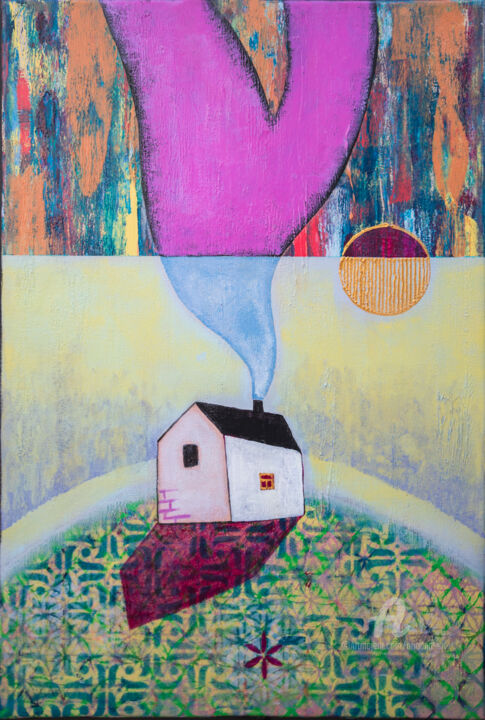 """Painting titled """"Home and silence 12"""" by Ariadna De Raadt, Original Art, Acrylic"""