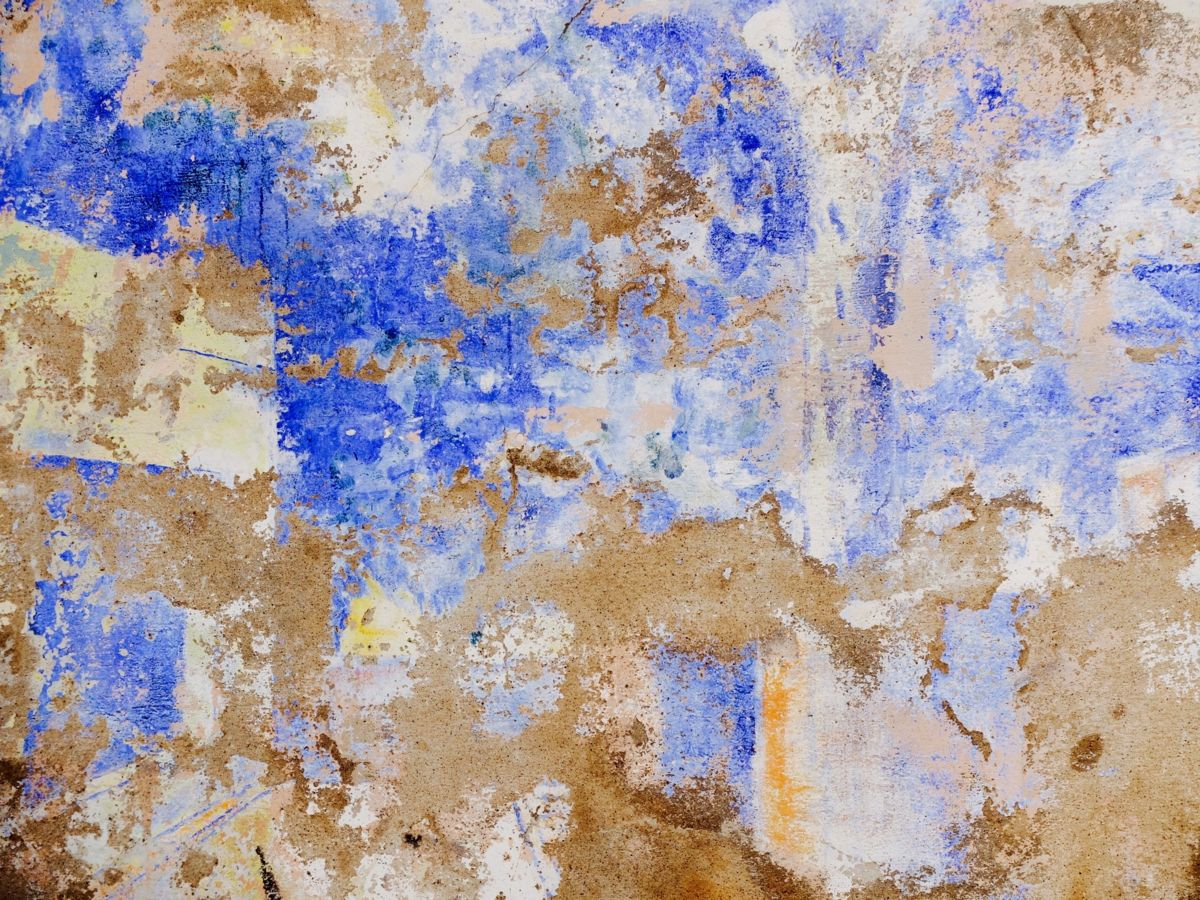 Mur a Albi - Photography ©2018 by Vincent ARIN -            Mur, Bleu