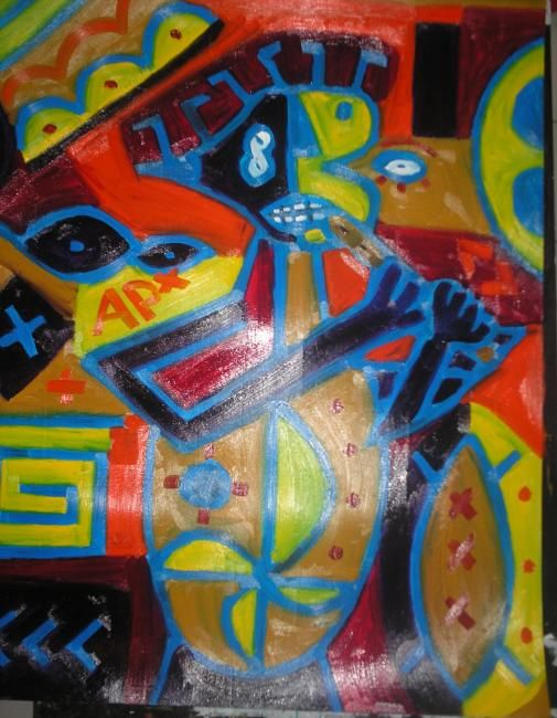 90 x 120 cm - ©2010 by Anonymous Artist