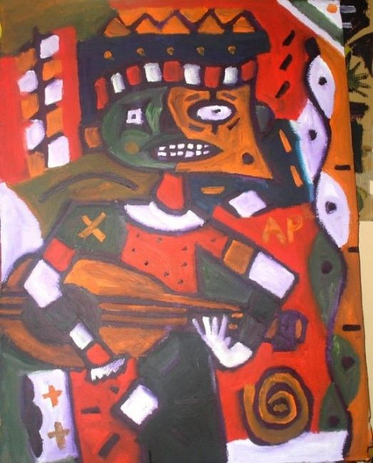 90 x 140 cm - ©2010 by Anonymous Artist