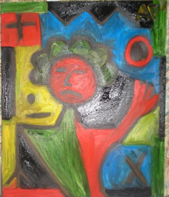 Painting,  65 x 54 cm ©2012 by Arnaud Pernin -  Painting