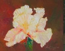 """Painting titled """"Flower-16"""" by Arnel Sarmiento, Original Art, Oil"""
