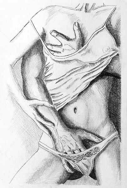 Black and white drawn porn have