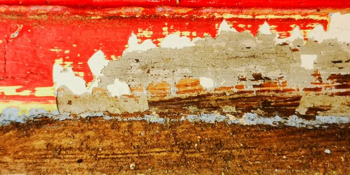 """Photography titled """"Rouge-Gris / bois"""" by Ludovic Cussigh, Original Art, Digital Photography"""