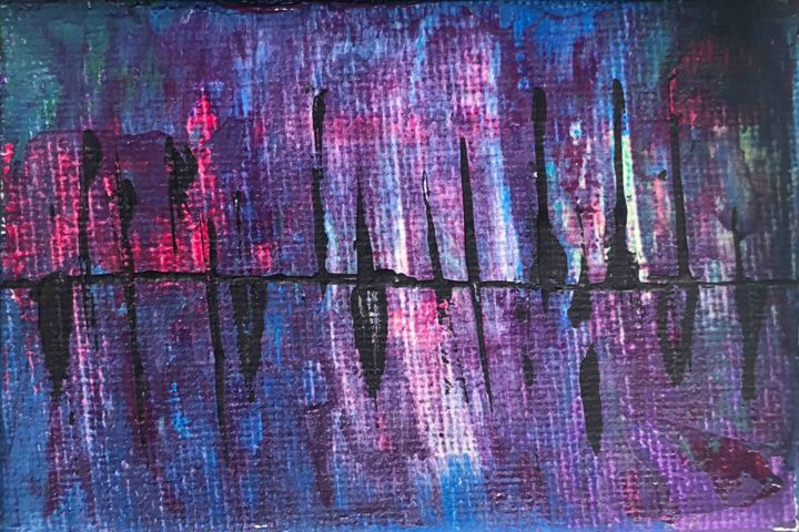 """Painting titled """"Lost in the echo"""" by Artbyar, Original Art, Acrylic"""