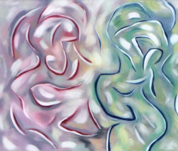 Fertility Dancers - Painting ©2000 by Gregg Simpson -