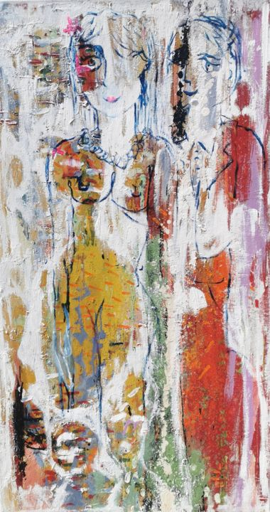"""Painting titled """"In the body there i…"""" by Dalma Dobisz, Original Art, Oil"""