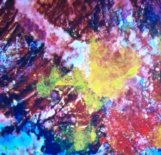 astratto2 - Painting,  40x30 cm ©2010 by Angelo Pisciotta -                            Abstract Art, pittura astratta, informale, espressionismo.