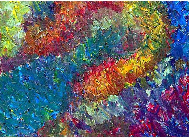 """Painting titled """"Champagne"""" by Joseph Marguccio, Original Art,"""