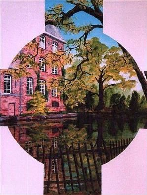 Reflections of Holland 2 - Painting ©2001 by David Blair -