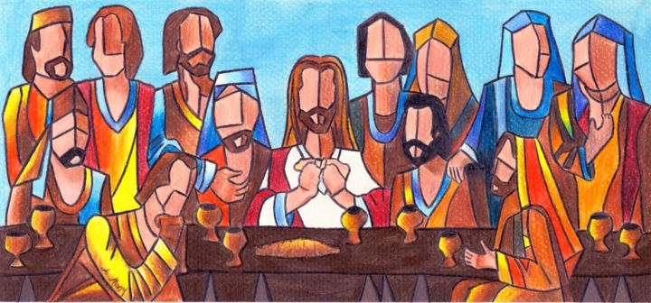 the last supper artist mony