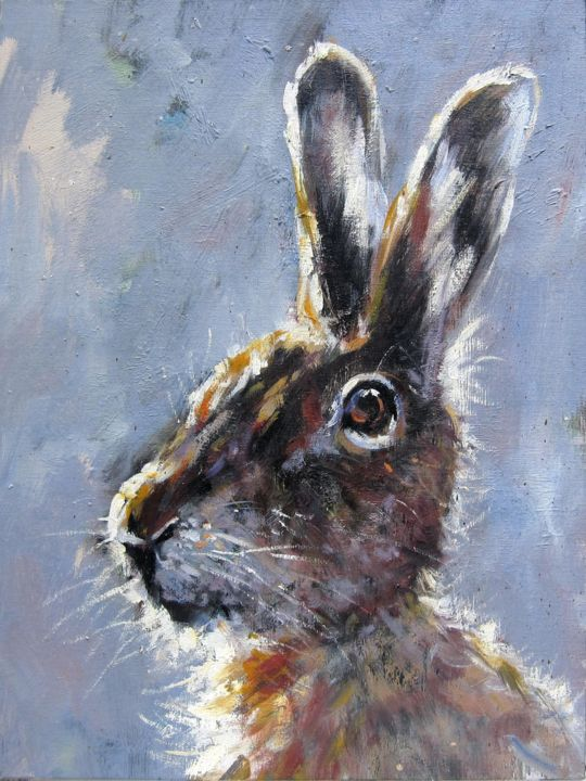 Animal Painting, oil, artwork by James Shang