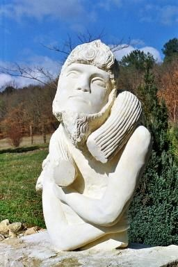 pan - Sculpture, ©2005 by Eric Le Ny -