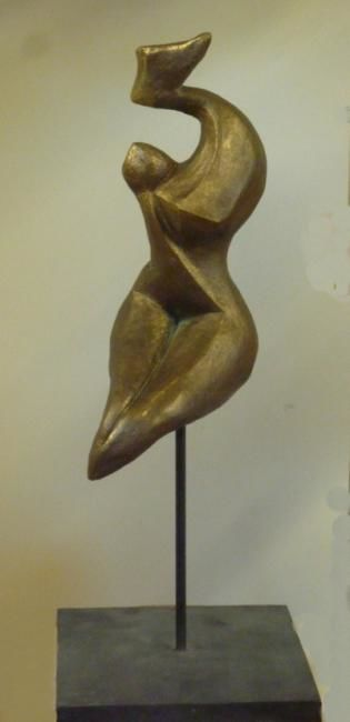 Maternite contemporaine terre cuite patin e formes contemporaines terres cuites - Sculptures modernes contemporaines ...