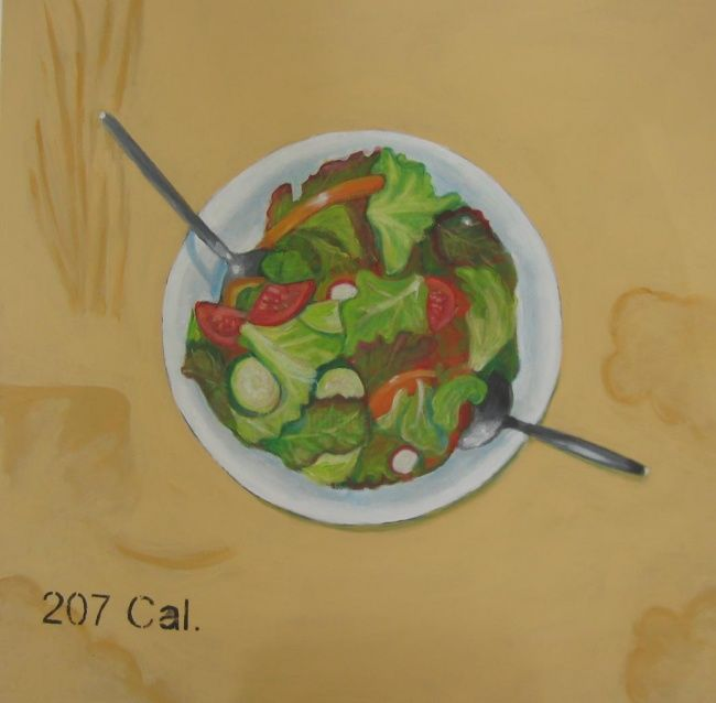 Painting,  60 x 60 cm ©2011 by artsvi -  Painting