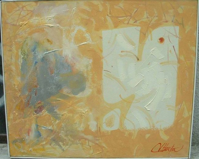 """Painting titled """"chicken"""" by Herta, Original Art, Other"""