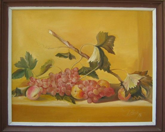 """Painting titled """"Copy"""" by Herta, Original Art, Oil"""