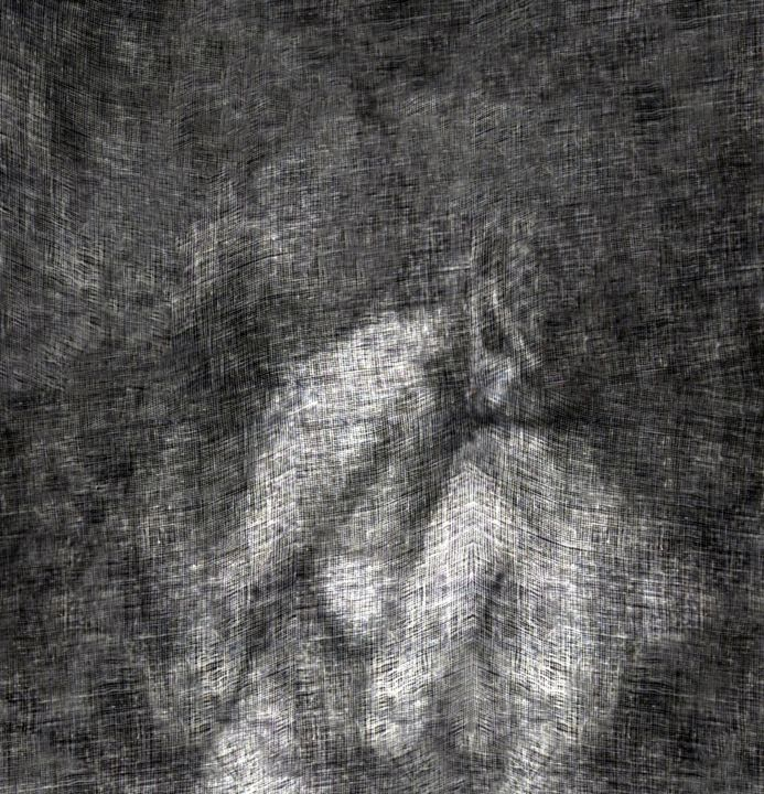 Les Amantes..... - Photography, ©2012 by Philippe Berthier -                                                                                                                                                                                                                                                                                                                                                                                                                                                                                                                                                  Impressionism, impressionism-603, Other, Body, Women, Black and White, Nude, mélancolie, tendresse, Limited Edition, Black and White